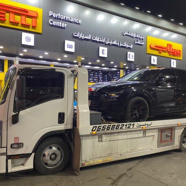 سطحة جدة 100 ريال خدمة نقل سيارات داخل جدة